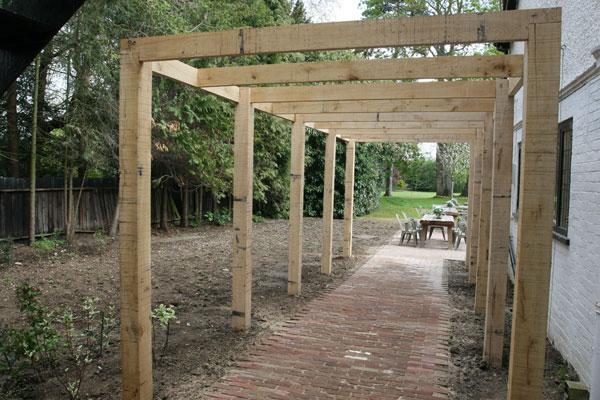 Grassroots Landscapes Oak Pergola In Hurley